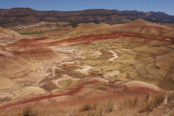 7. See the Painted Hills and John Day Fossil Beds.