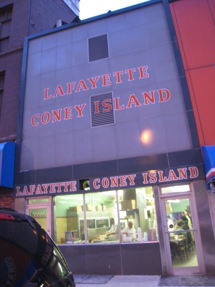 8) Lafayette Coney Island, Detroit