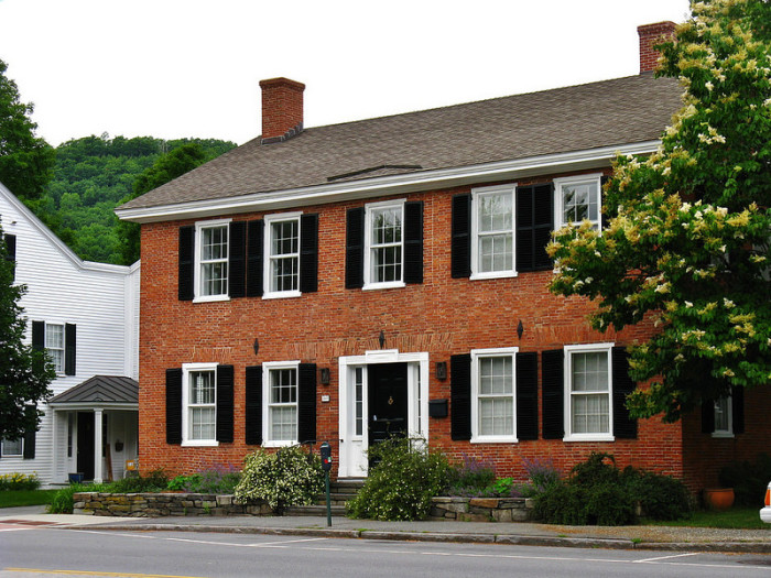 10.  A beautiful home in Woodstock.