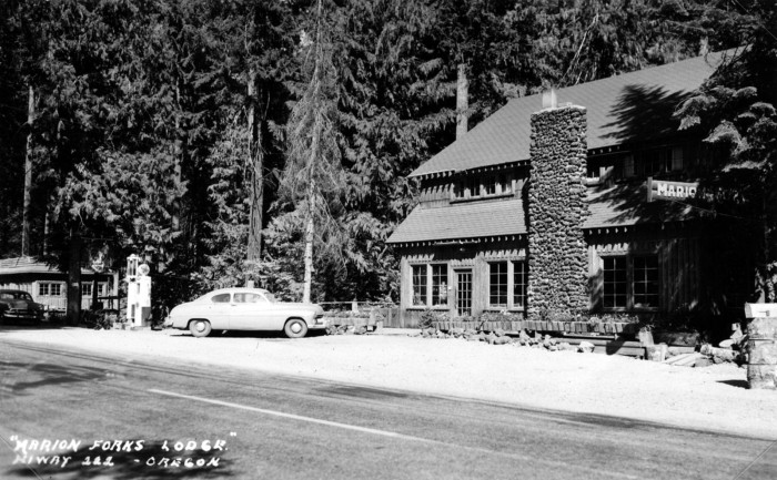 6. Marion Forks Lodge, 1964.