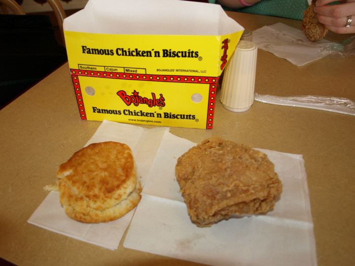4. You know every single time when Bojangles adds a new item to the menu.