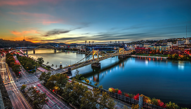 10. Fall brings out Pittsburgh's brightest colors and highlights its gorgeous topography.