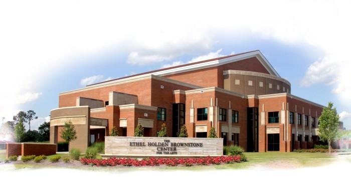2. Ethel Holden Brownstone Center for the Arts, Poplarville