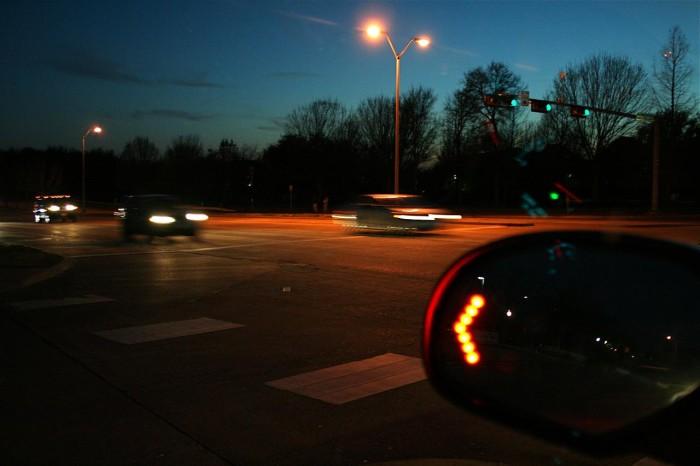 2. Utahns change lanes without using a turn signal.
