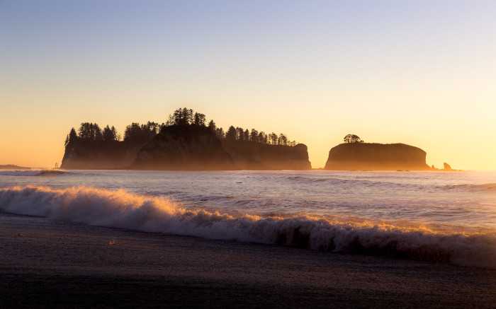 7. Catching the sun set at Rialto Beach is one of the most magical moments you can enjoy along our coast.