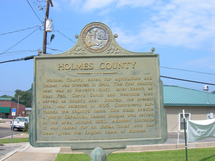 6. Holmes County