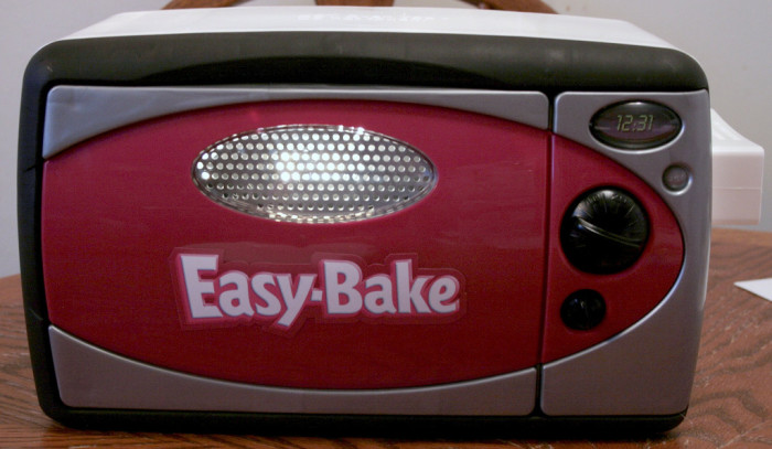 7.  We didn't use Easy Bake Ovens.