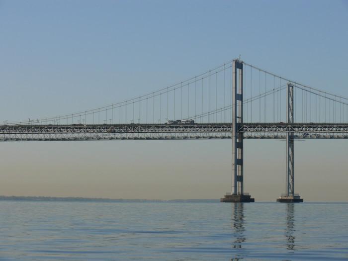10) The Chesapeake Bay Bridge - Maryland's most famous and terrifying bridge.