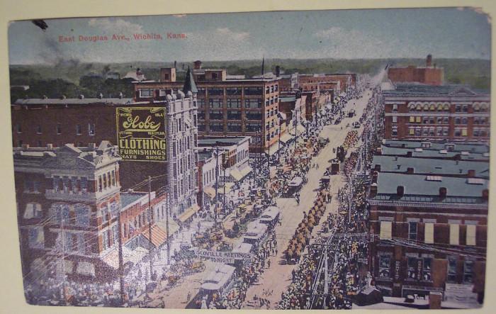 "11. ""Vintage Postcard Witchita, Kansas."""