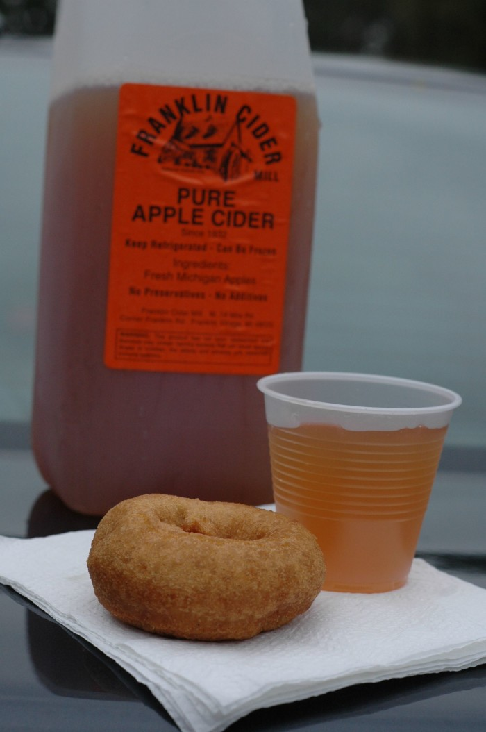 10) And while you're at it, a stop at the cider mill wouldn't hurt either,