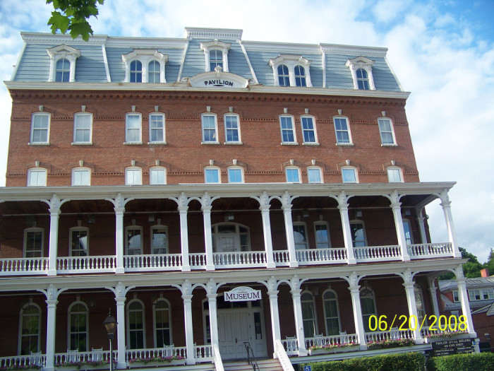 7.  The Vermont Historical Society Museum in Montpelier