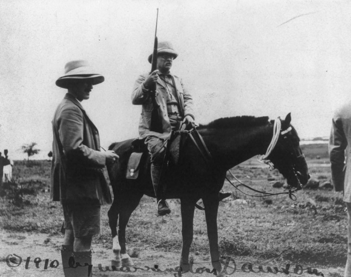 5. Teddy Roosevelt loved our state the most.