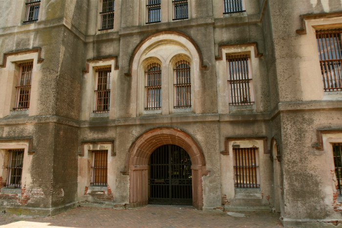 40. South Carolina: Old Charleston Jail