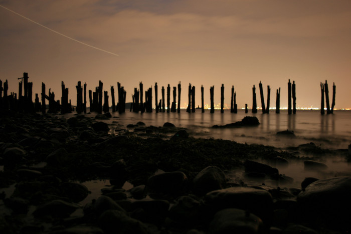 4. Silent shores on Lovell Island in Hull.