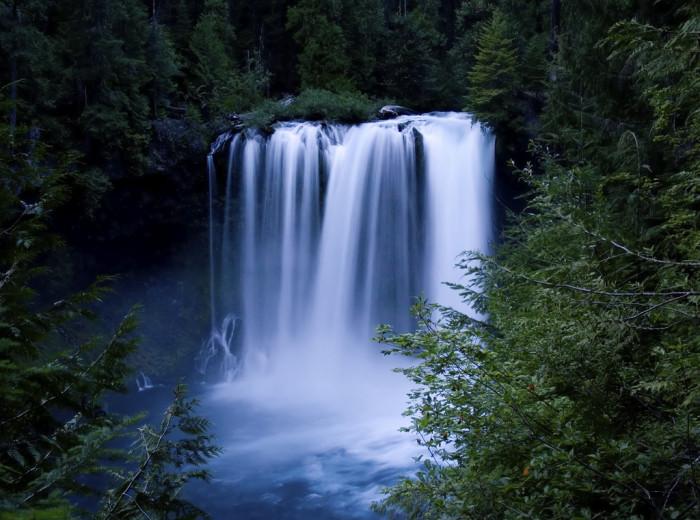 5. Koosah Falls