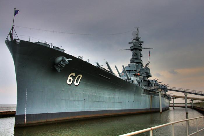 12. USS Alabama Battleship