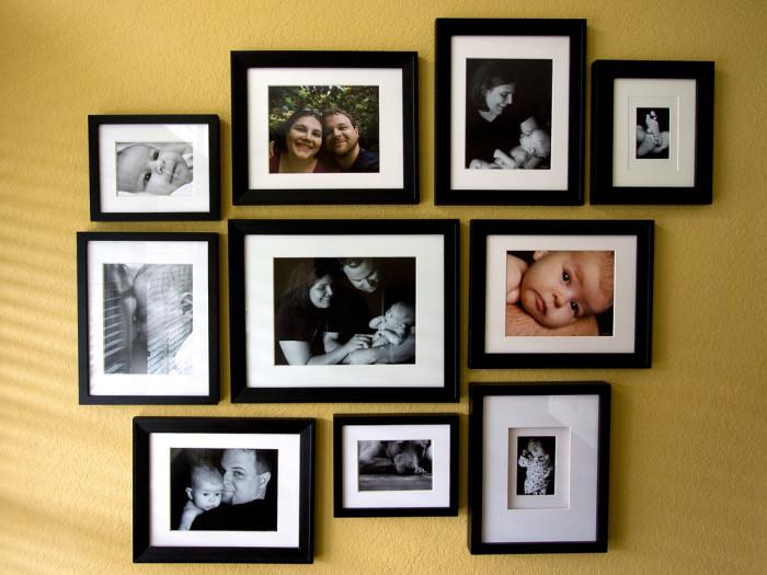 4. Tons of family photos.