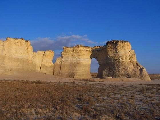 6. Sadly, the Monument Rocks have the same predicted fate as Castle Rock.