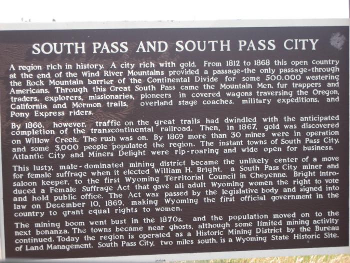 8. South Pass