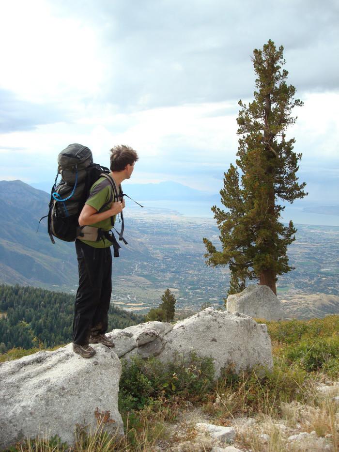 2. Lone Peak Wilderness Area