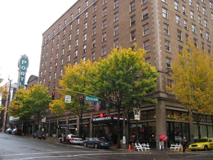 2. The Heathman Hotel