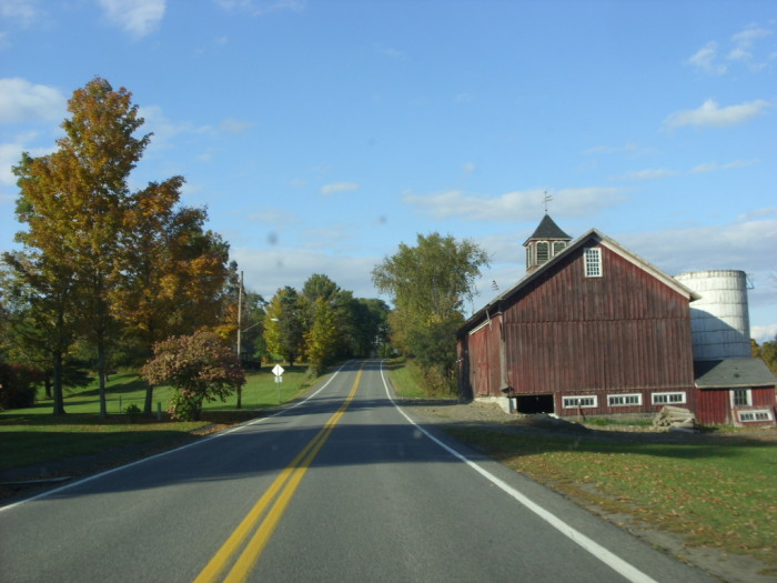 2.  There are towns and there is rural country...