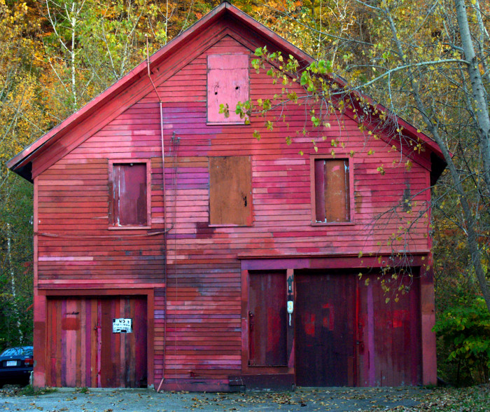 1. This barn in North Adams is every shade of red.