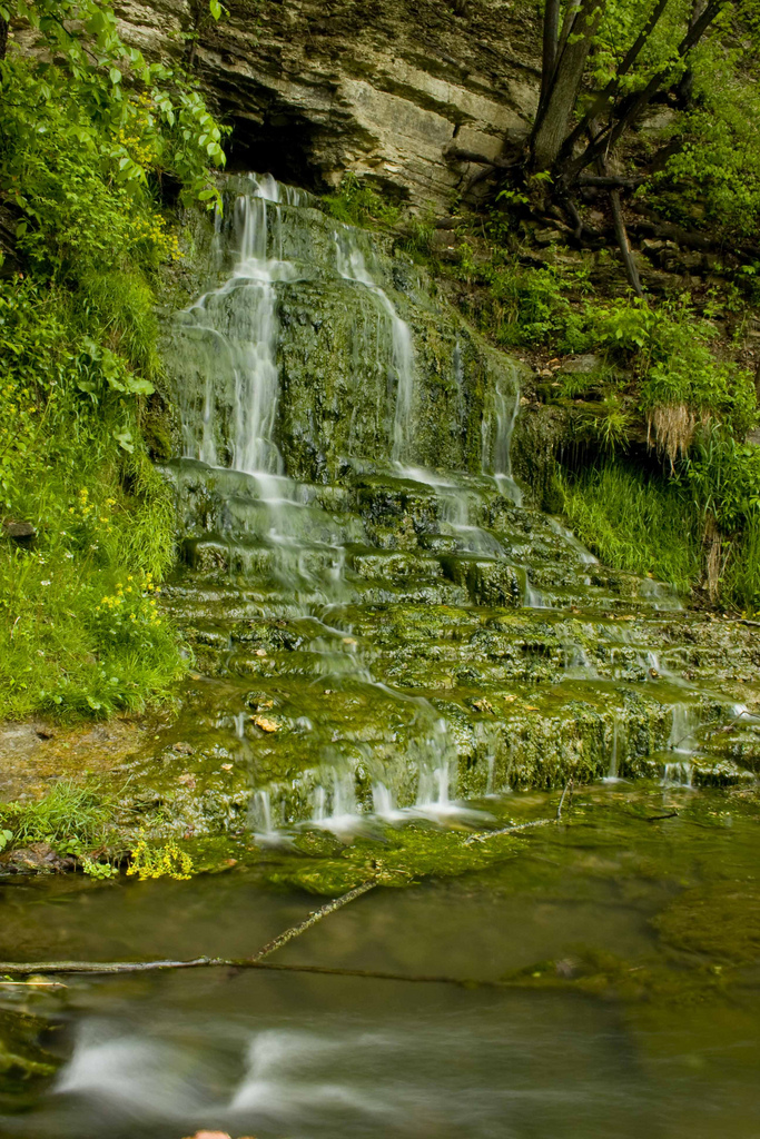 3. Beulah Spring Falls, McGregor
