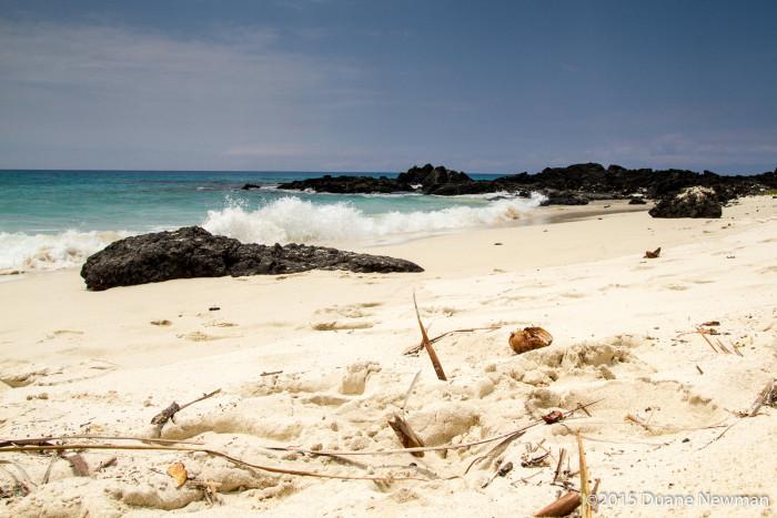 3) Makalawena Beach