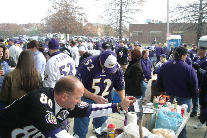 7) Tailgating can always be considered a date.