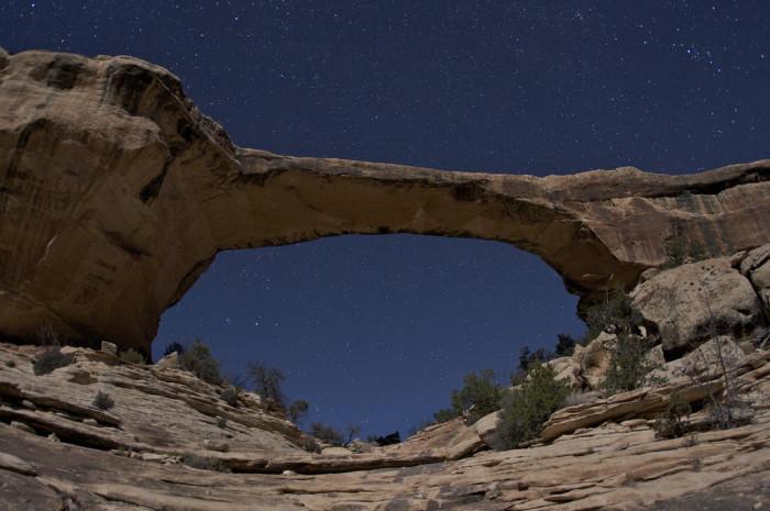 1. Under the Stars at Natural Bridges National Monument