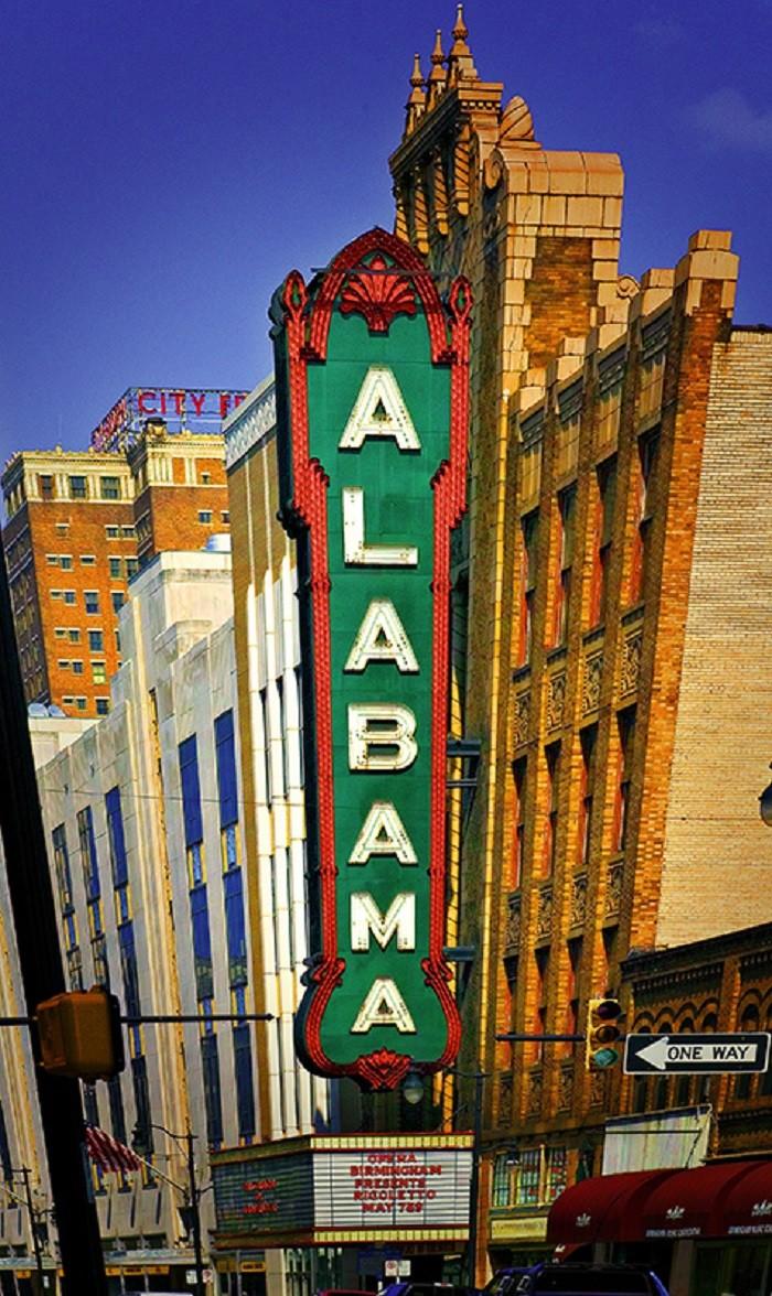 7. Alabama Theatre