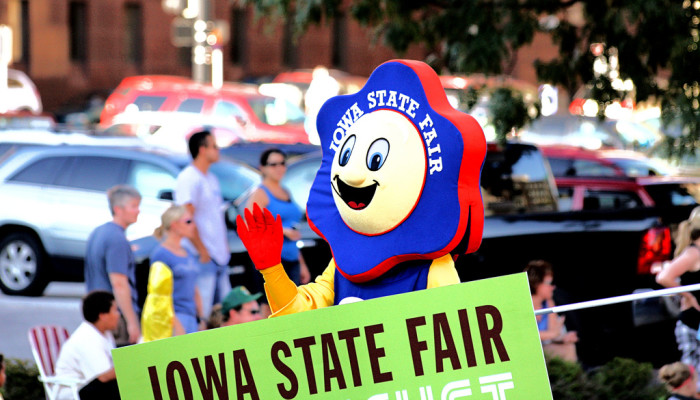 """3. """"I've never been to the Iowa State Fair."""""""
