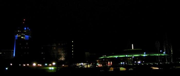 2. Wichita isn't too shabby at night, either!