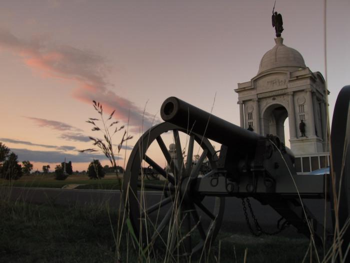 38. Pennsylvania: Gettysburg Battlefield