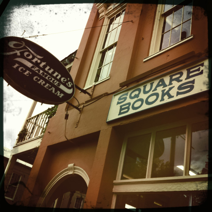 3. Lose yourself in a great piece of literature at one of the top bookstores in the nation, Oxford's Square Books.
