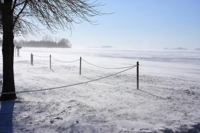5. It's a winter wasteland all year round in North Dakota.