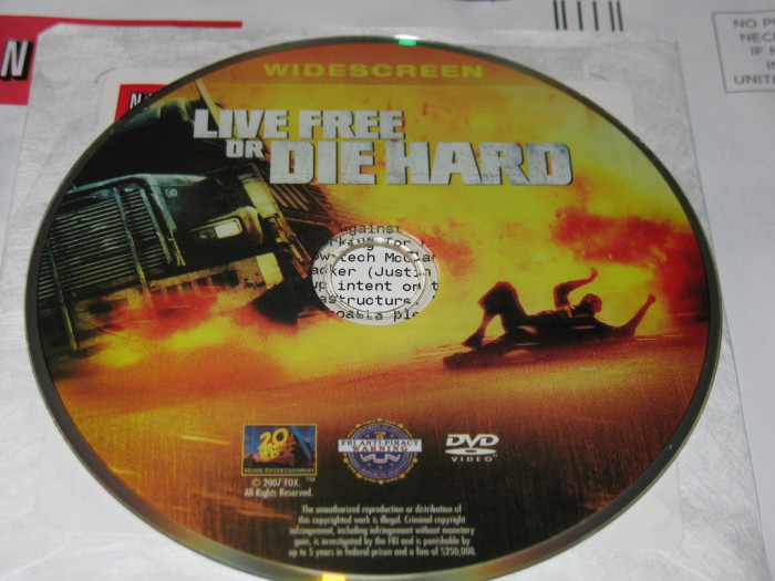 10) Live Free or Die Hard AND Die Hard With A Vengeance