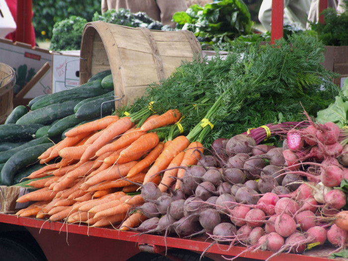 6. They have a spectacular local Farmer's Market.