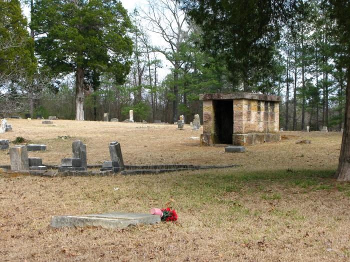 1. Bass Cemetery - Irondale