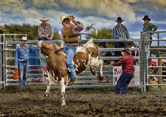 15. The world's first rodeo was held in Deer Trail, Colorado on July 4, 1869.