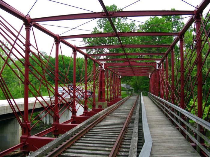 2) Bollman Truss Railroad Bridge, Savage