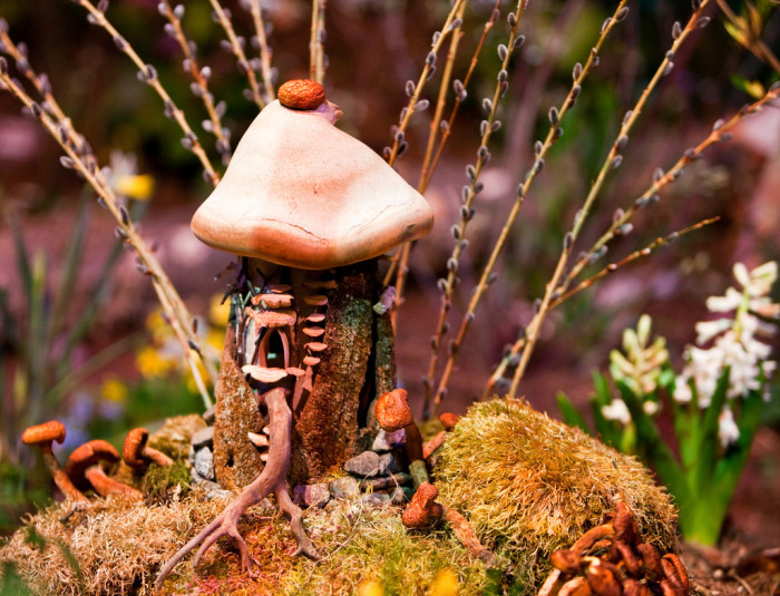 14.  There is nothing like stumbling upon a fairy house while on an afternoon hike.