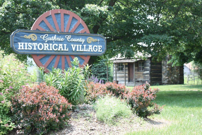 2. Guthrie County Historical Village, Panora