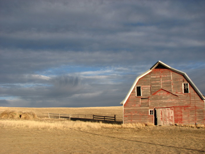 2. This aging barn near Reeder, ND