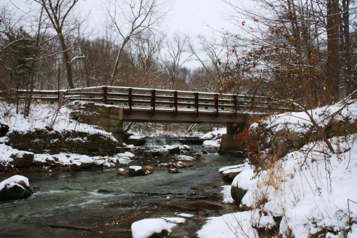 16. Hemlock Creek Bridge at Bedford Reservation