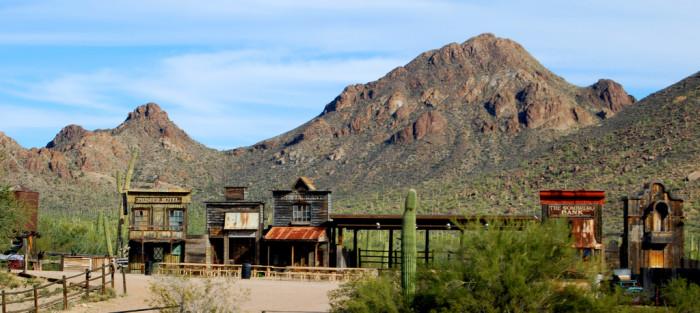 8. Old Tucson, Tucson