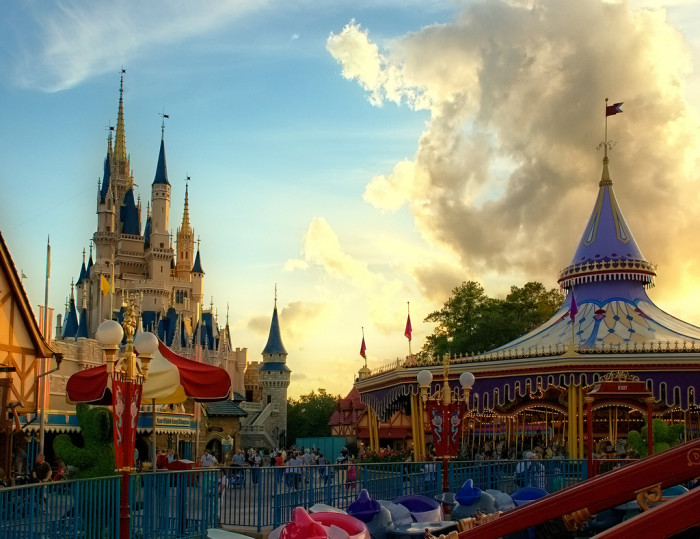 2. You get used to being able to go to your favorite theme parks whenever you want.