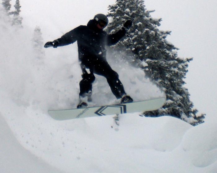 2. Snowboarding