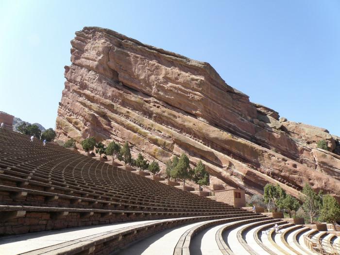 6. Red Rocks Amphitheatre (Morrison)
